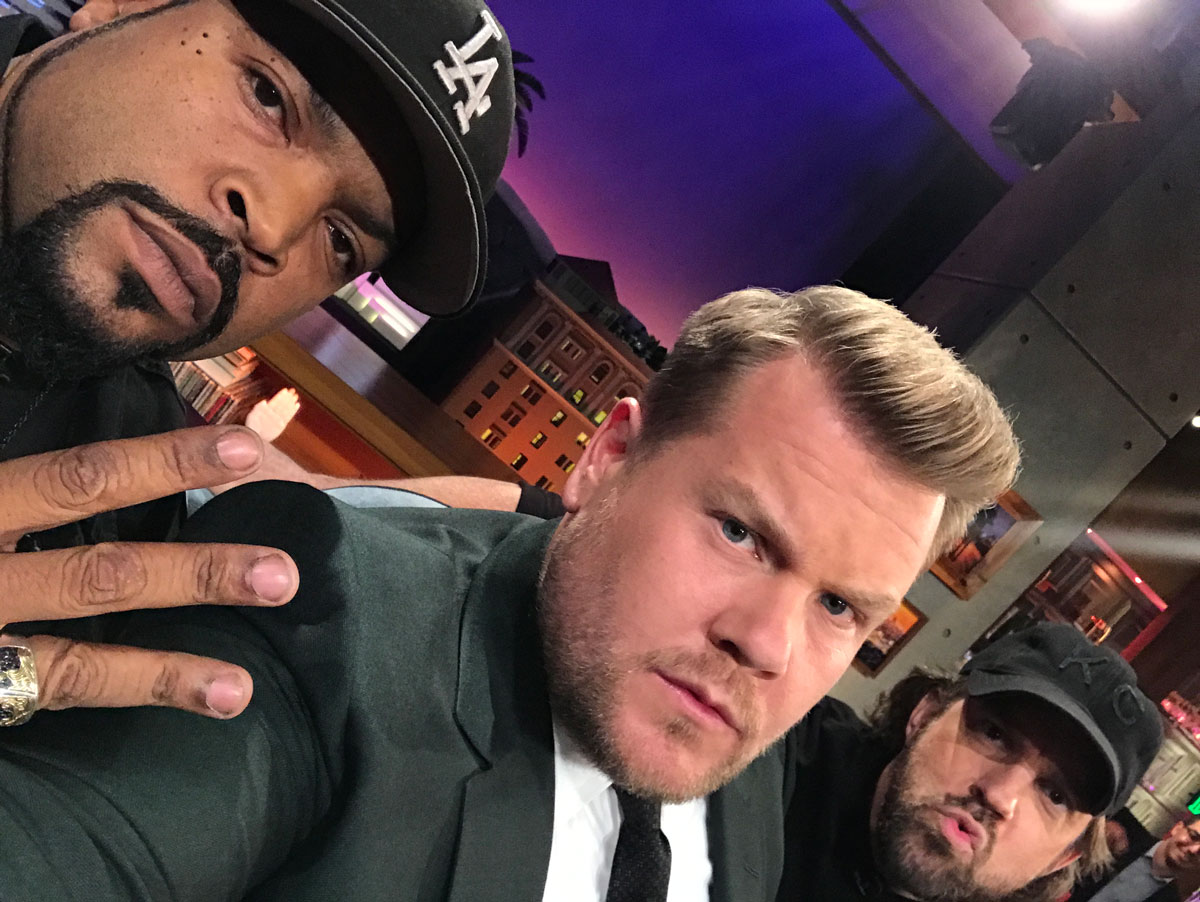 Ice Cube and Jason Sudeikis