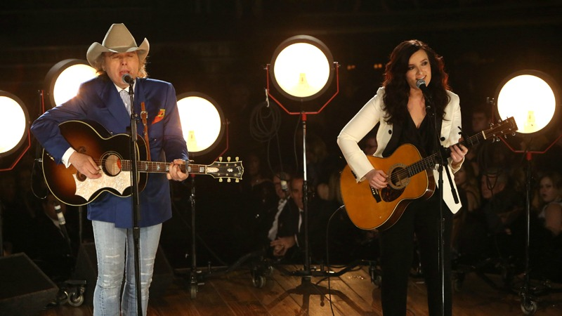 9. When Brandy Clark and Dwight Yoakam's duet stole the show.