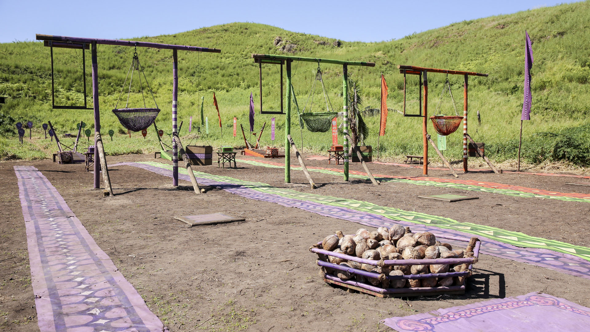 The scene is set for the next Immunity Challenge.