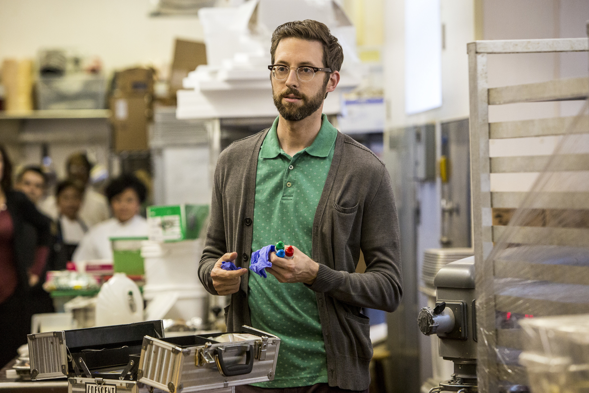 Rob Kerkovich as Sebastian Lund