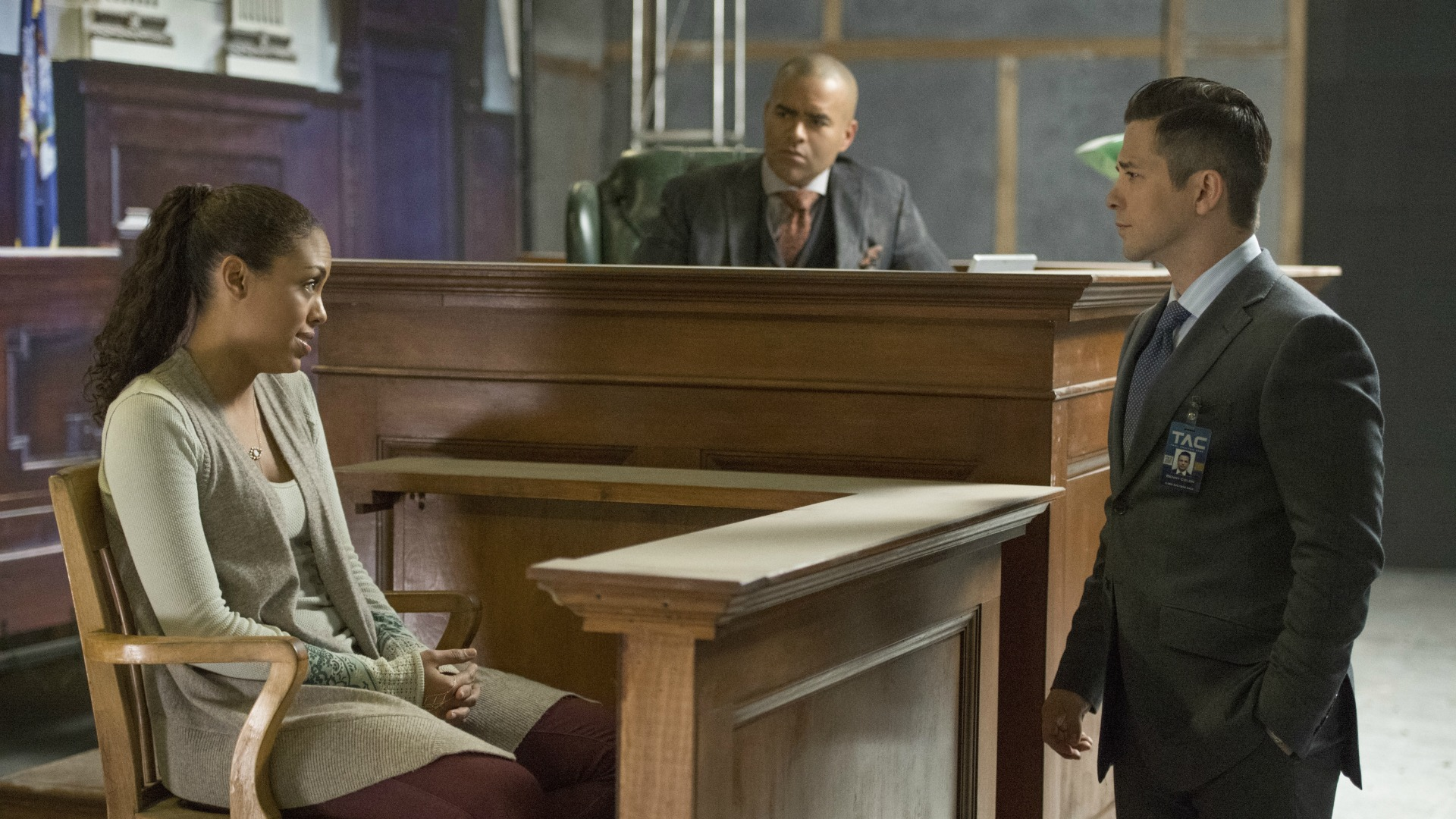 Benny questions Danny on the stand.