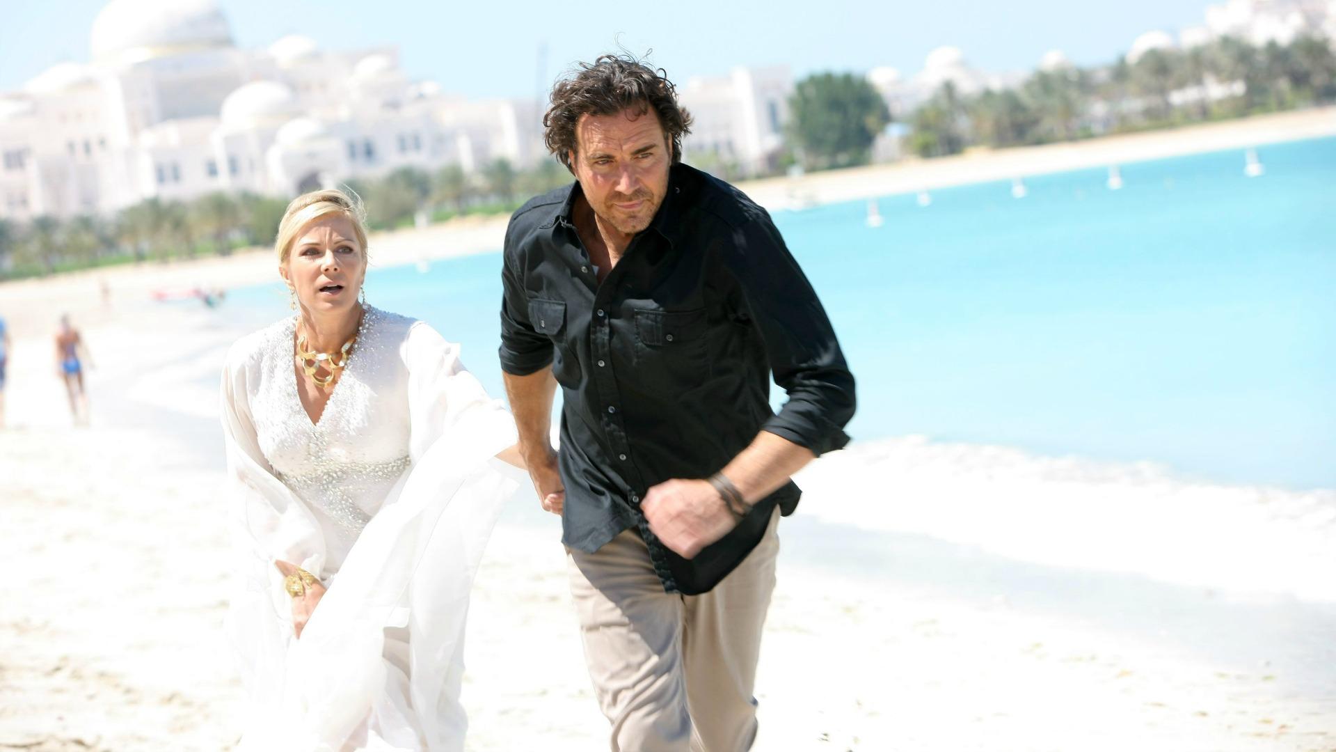 Ridge disrupted Bill and Brooke's wedding in Dubai.