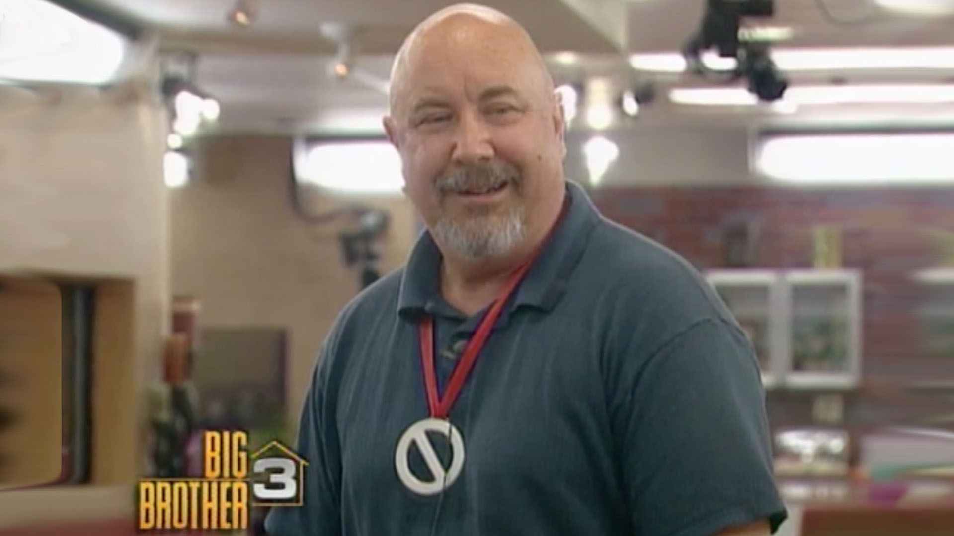 The first-ever winner of the Power of Veto: Gerry Lancaster