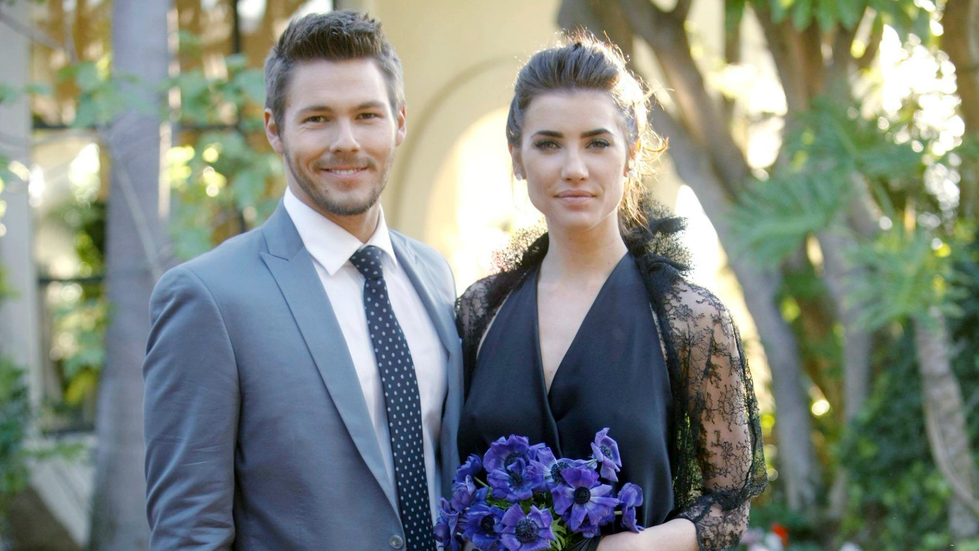 Steffy and Liam wed for the second time in 2013.