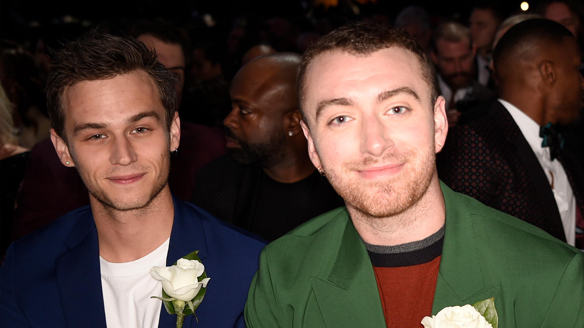 Sam Smith, who performed a rousing rendition of his single