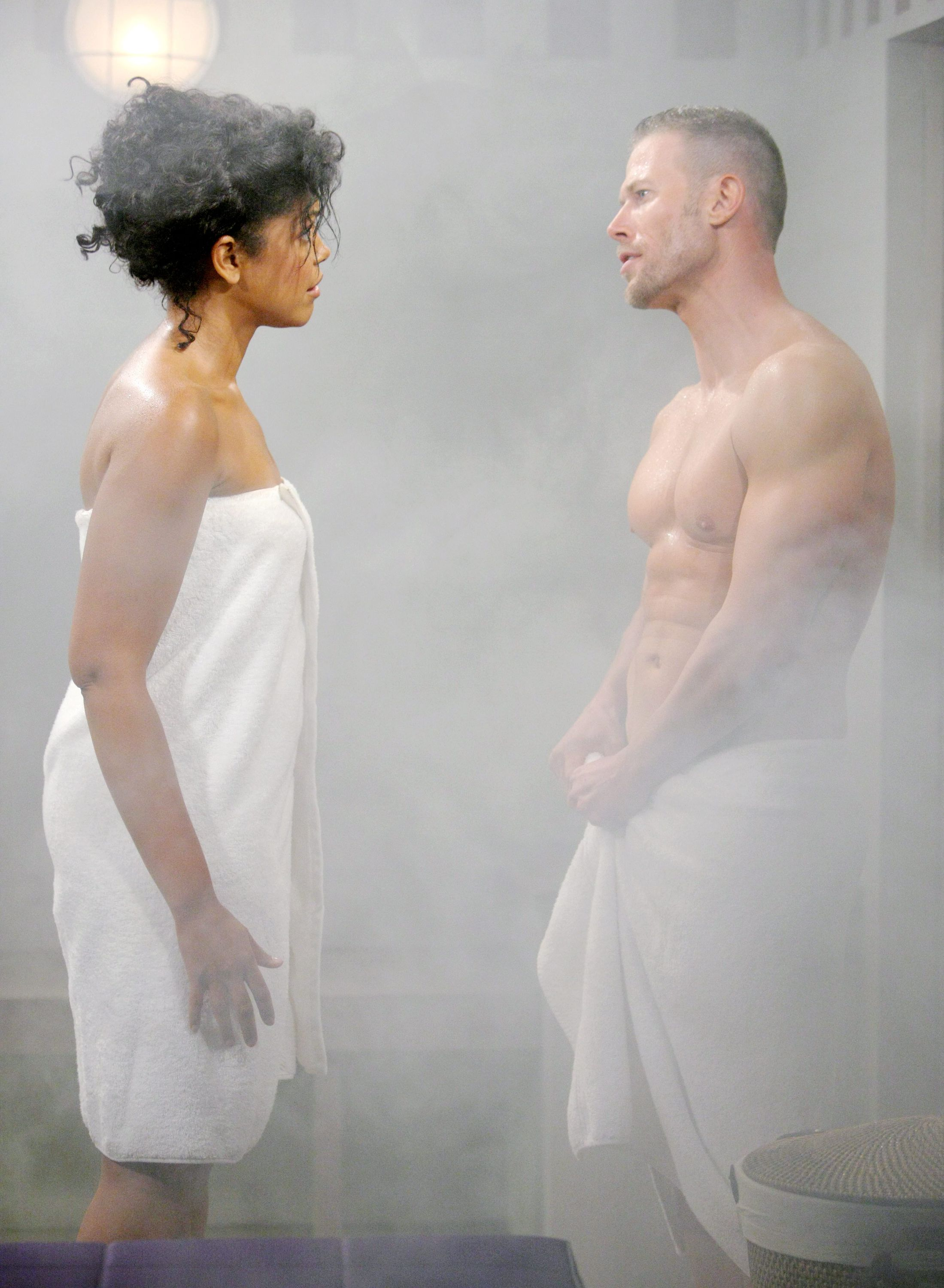 In the Steam Room