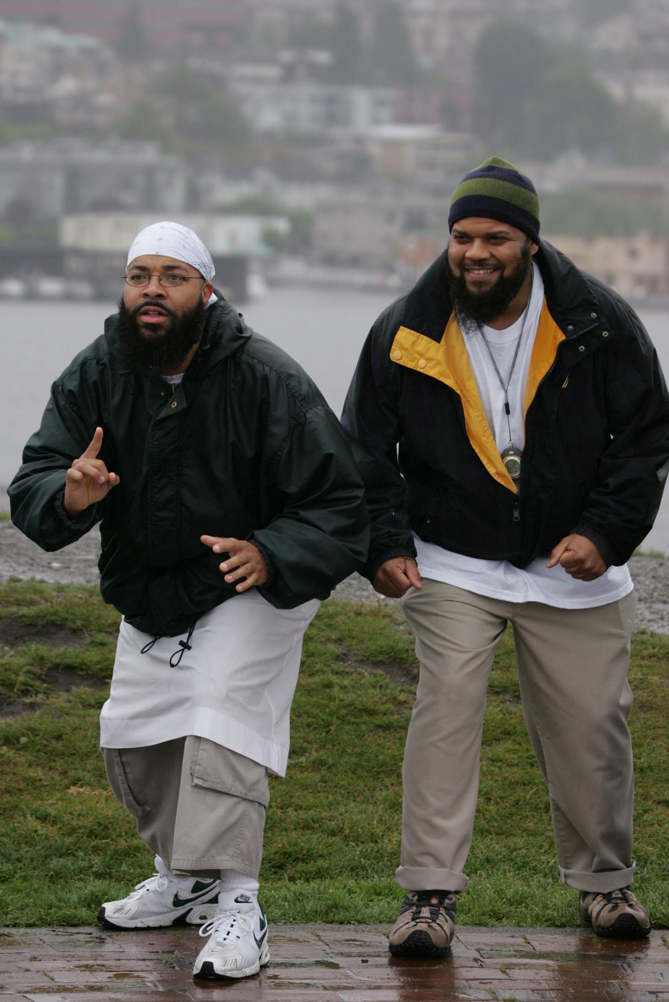 Bilal and Sa'eed