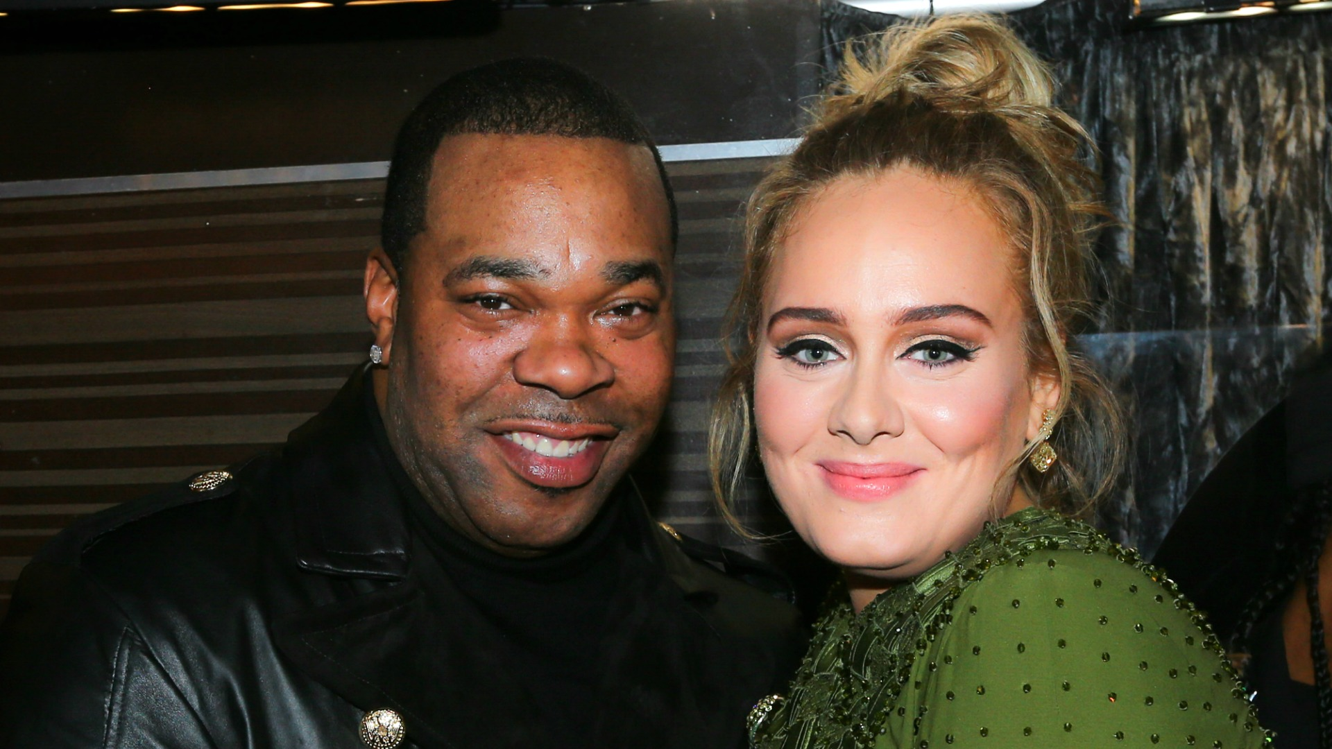 Maybe Busta Rhymes will write a new rap about his hang sesh with Adele.
