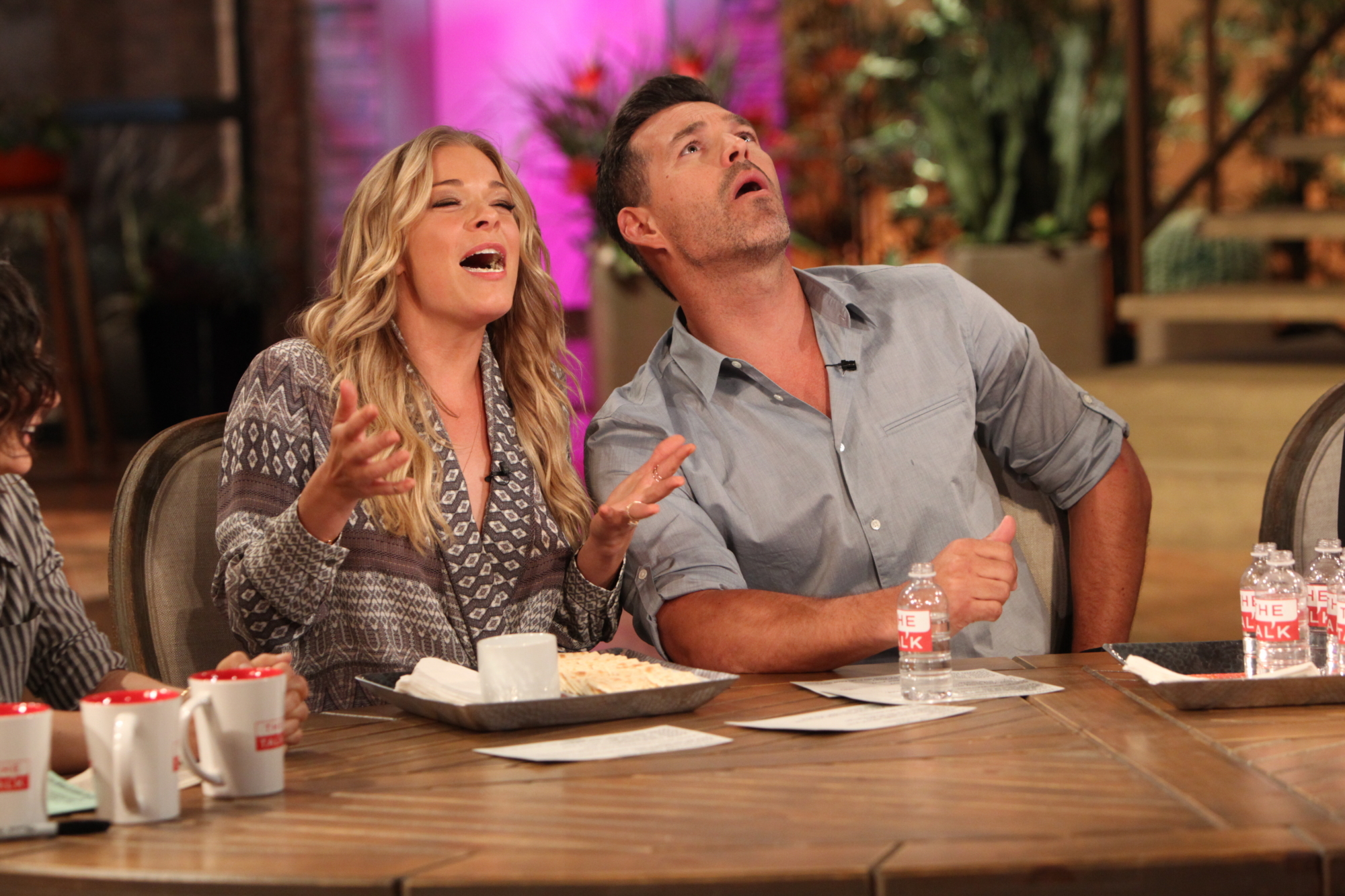 LeAnn Rimes And Eddie Cibrian On THE TALK.