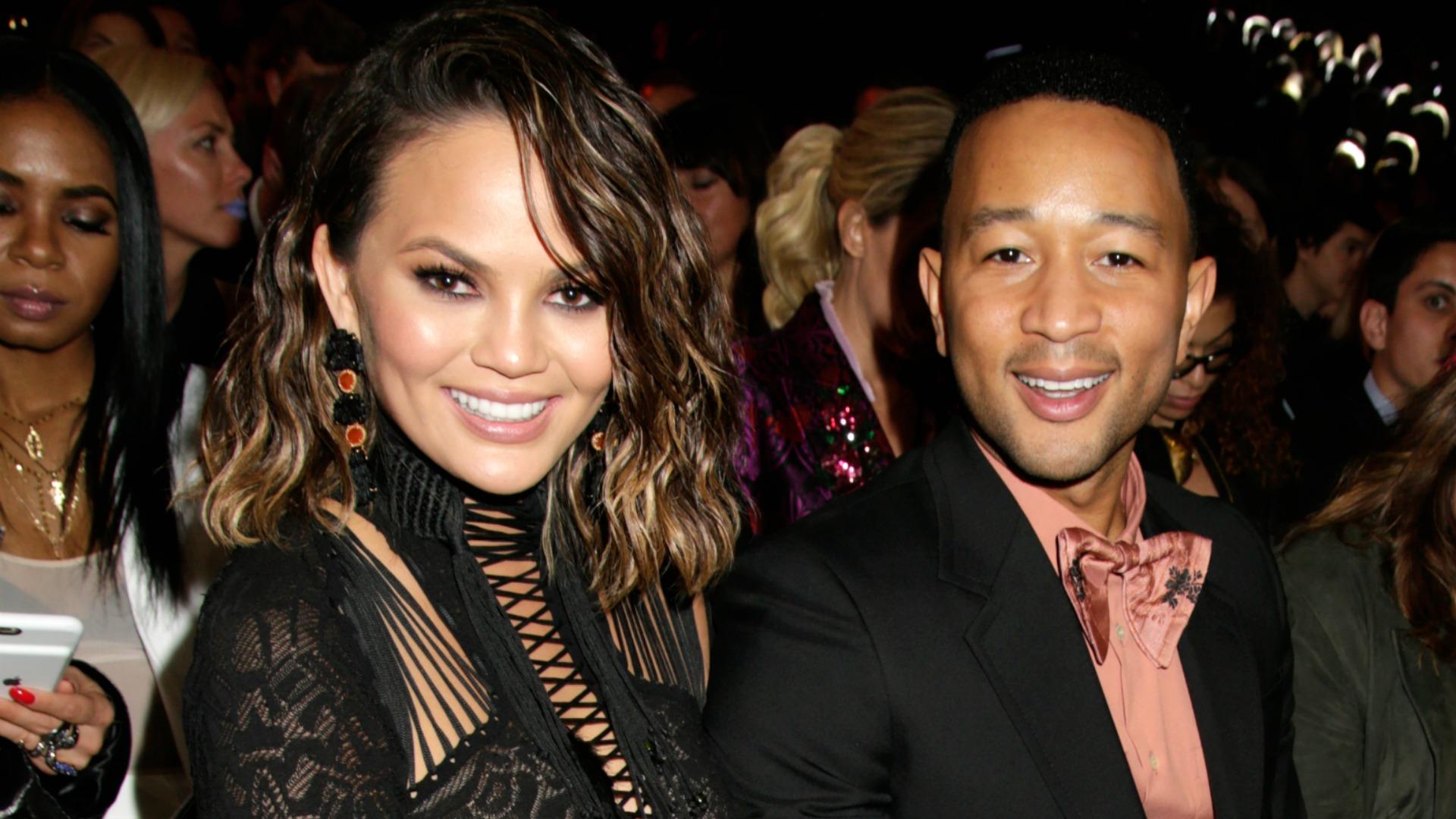 Chrissy Teigen and John Legend sure make one handsome couple.