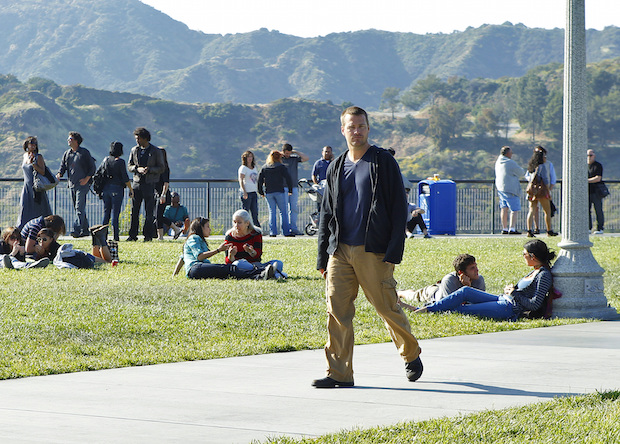 Q: Who blows Callen's cover in the episode