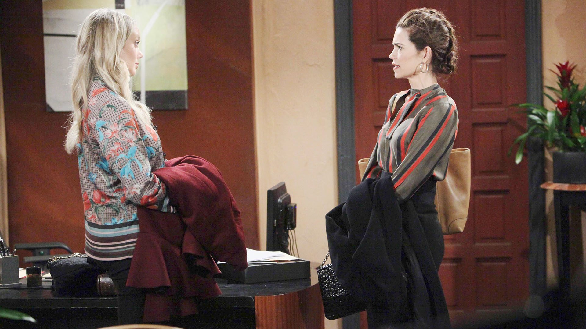 Abby and Victoria's feud heats up.
