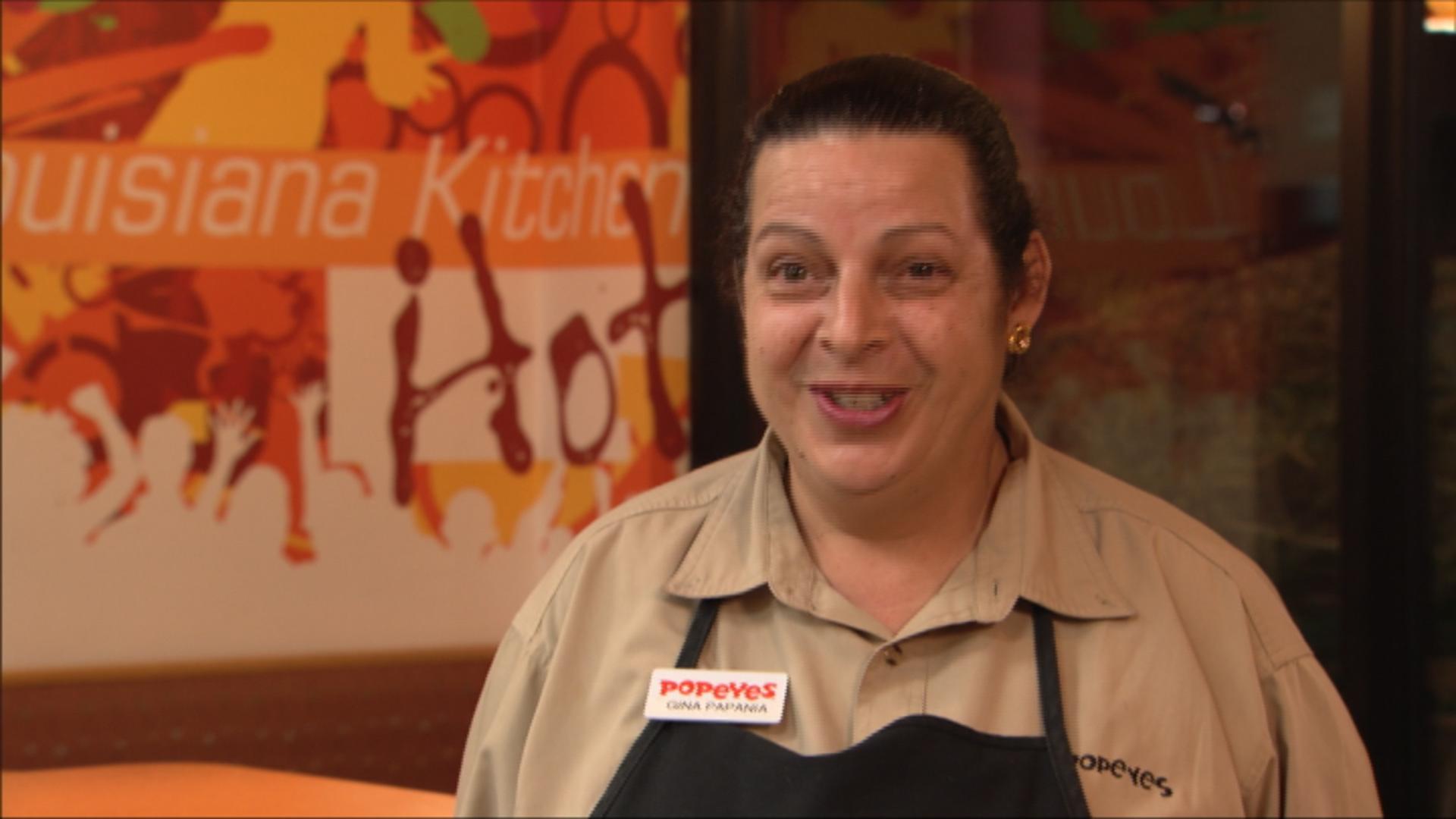 Employee Gina