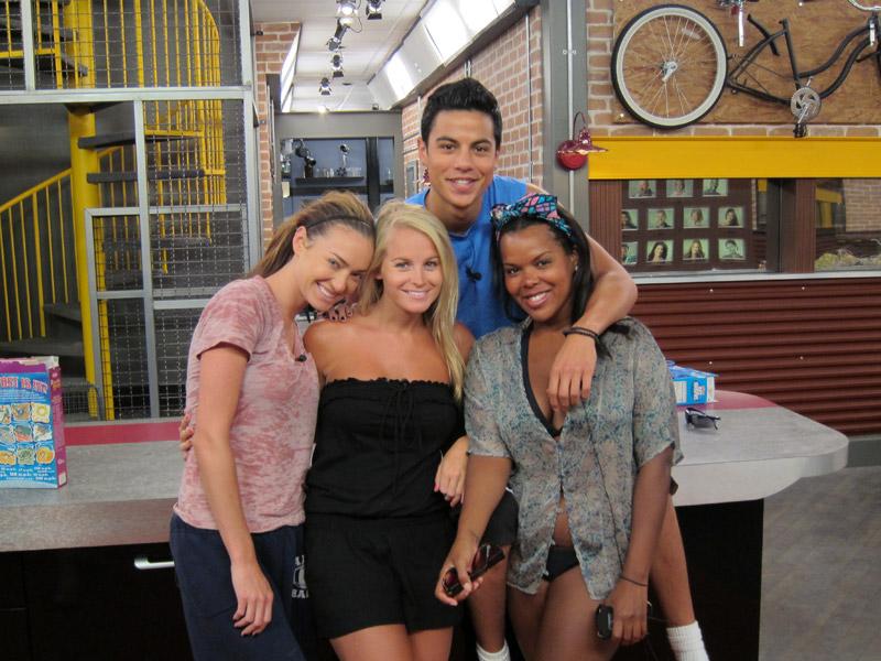 Cassi, Jordan, Dominic and Kalia