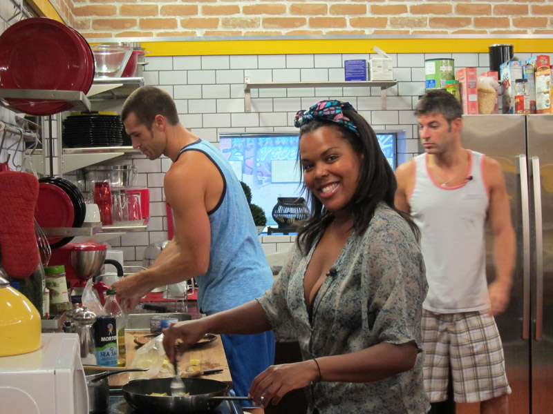 Kalia Cooks in the Kitchen