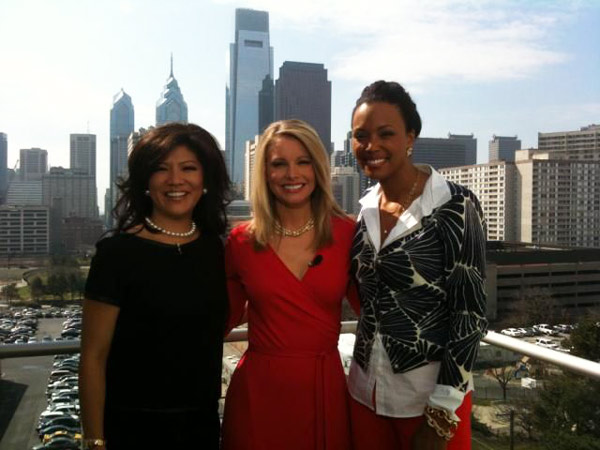 Julie, Susan & Aisha's Philly View!