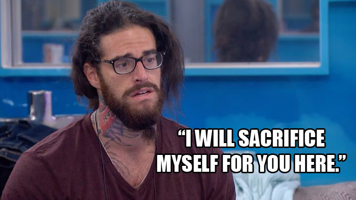 Austin begs Vanessa not to put him on the block.