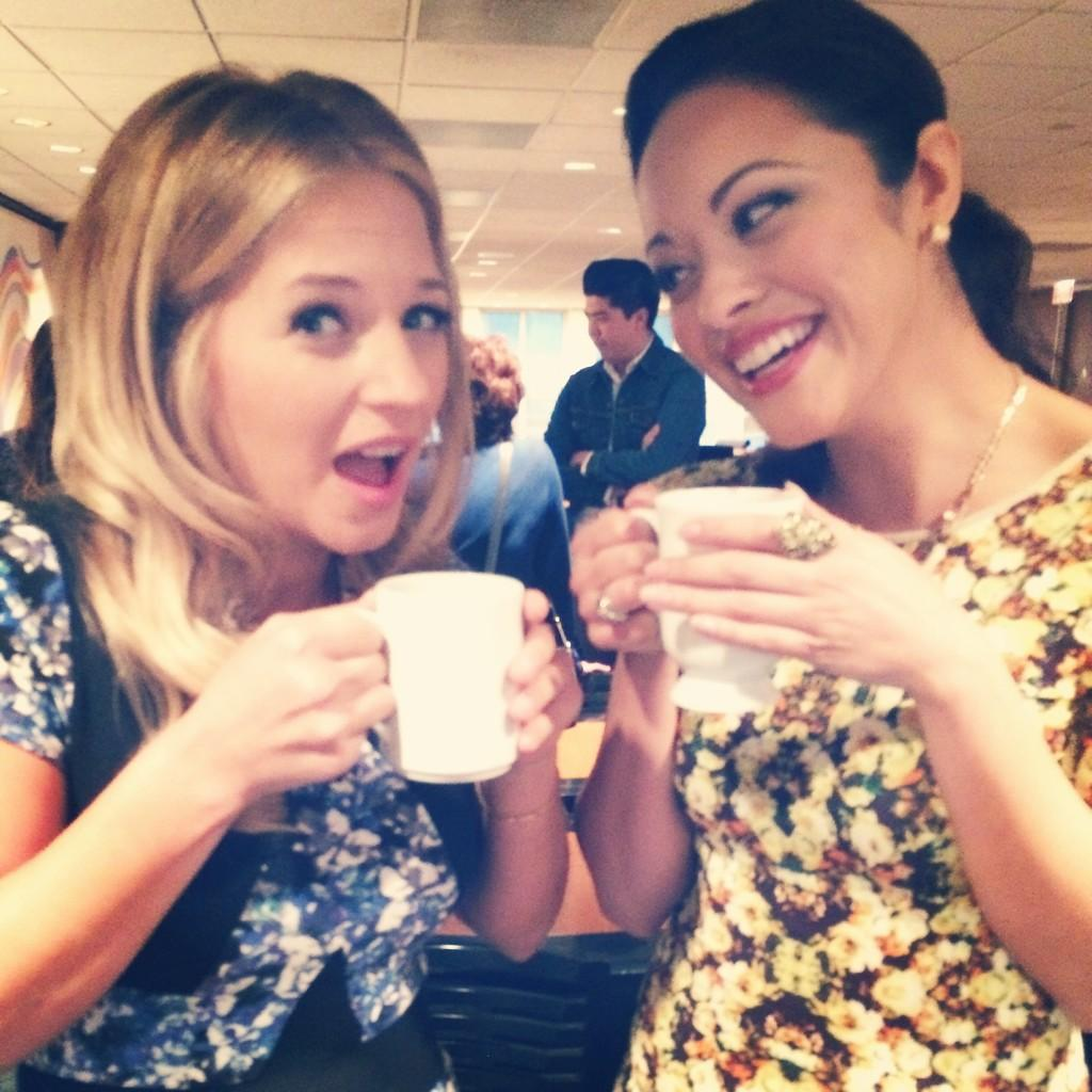 Vanessa Ray and Marisa Ramirez