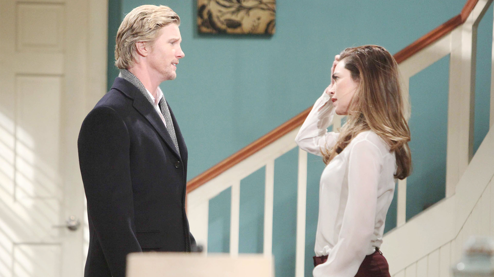 J.T. and Victoria present a united front to Victor.