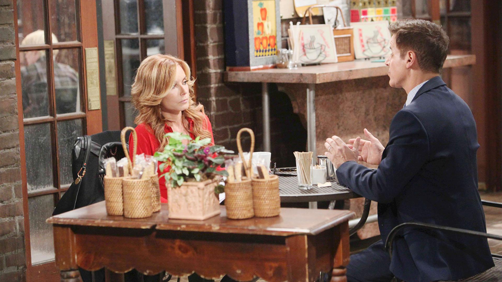 Lauren worries about Scott's safety.