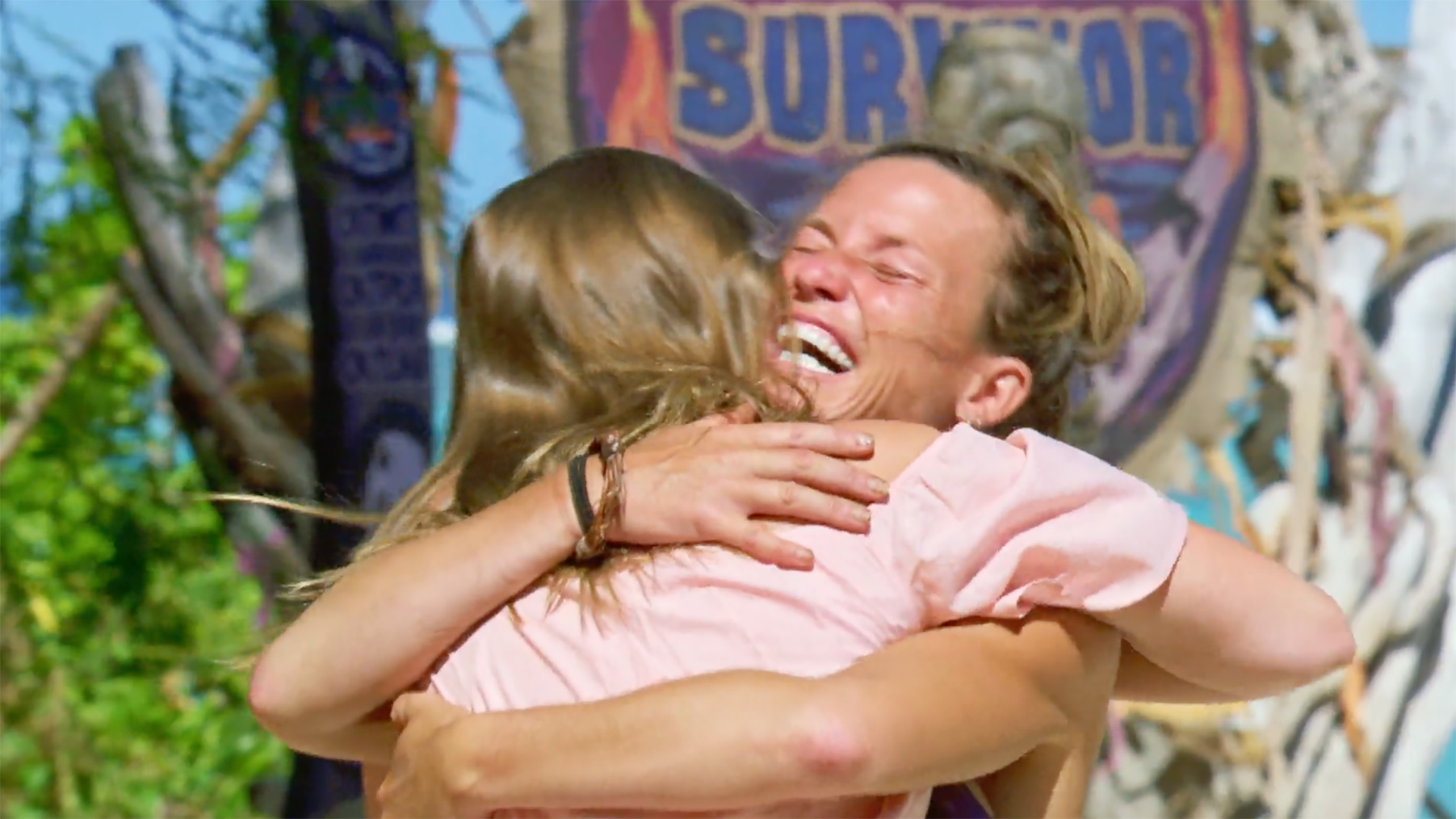 Season 36: Angela Perkins embraces her daughter.