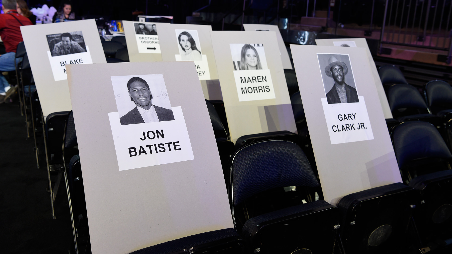 2018 GRAMMY Awards performer and The Late Show bandleader Jon Batiste will be watching the ceremony next to Gary Clark Jr.