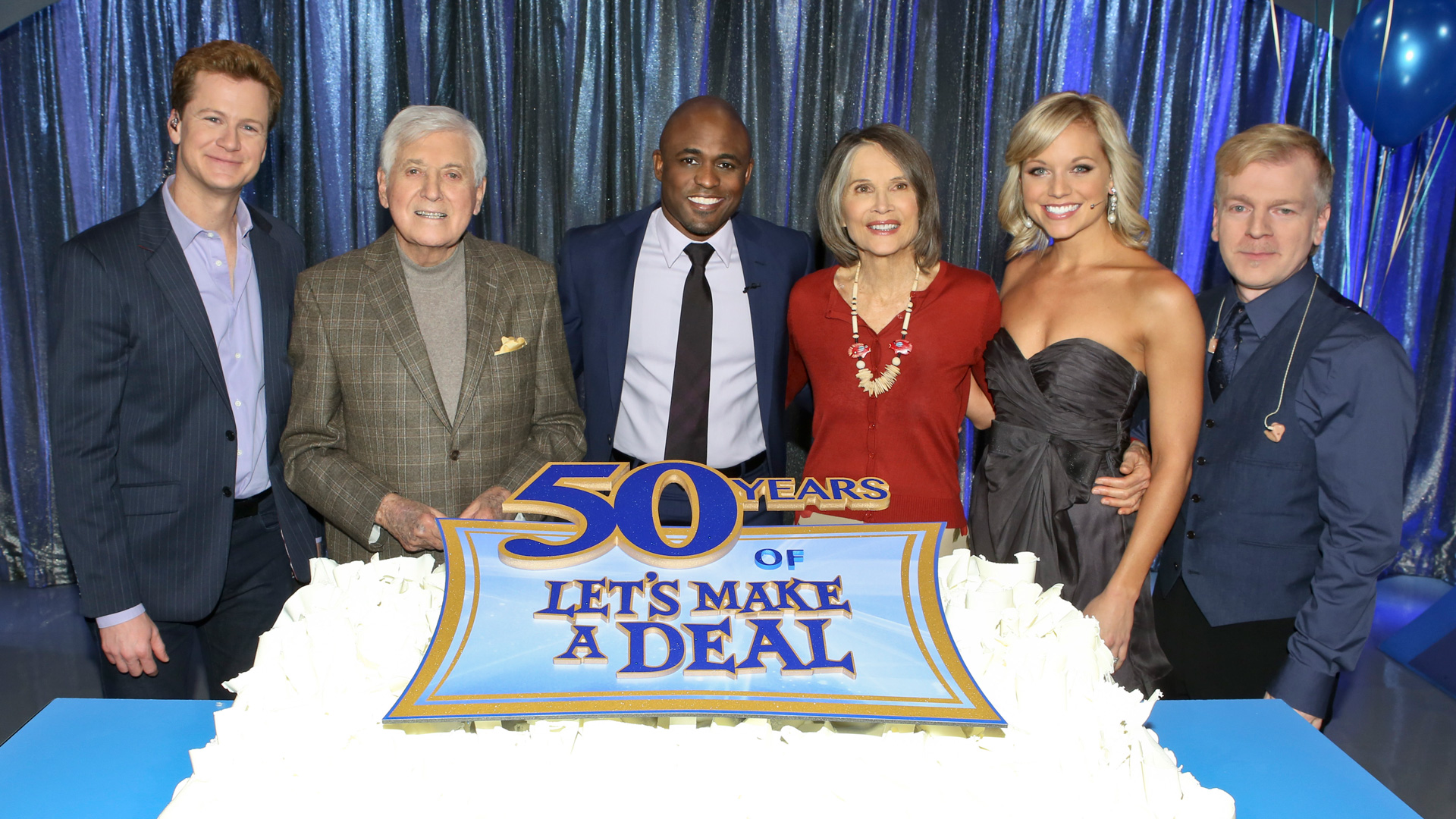 Monty helped ring in Let's Make A Deal's 50th anniversary.