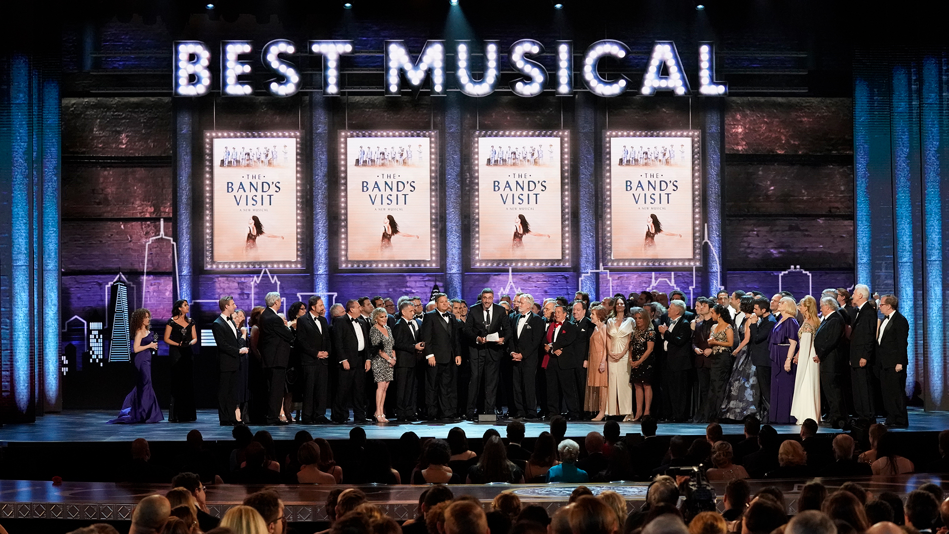 The Band's Visit wins Best Musical at the 2018 Tony Awards.