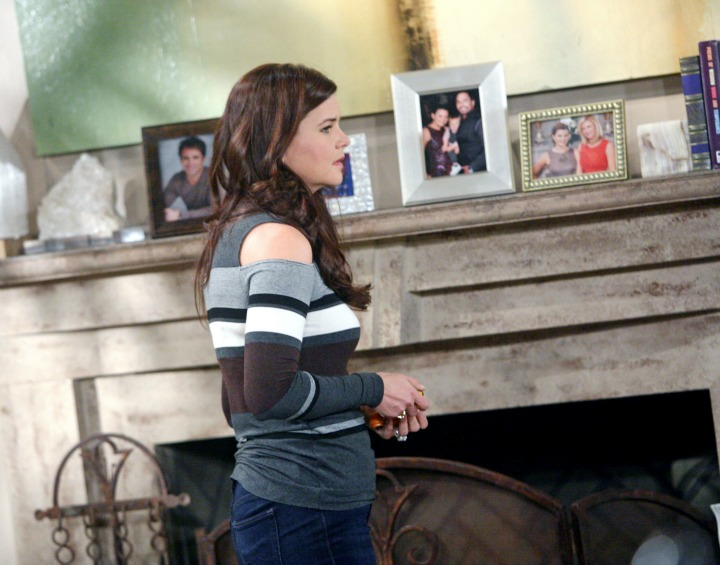 Deep-seated anguish from the past resurfaces for Katie as she fixates on the recent troubles Brooke has created for her.