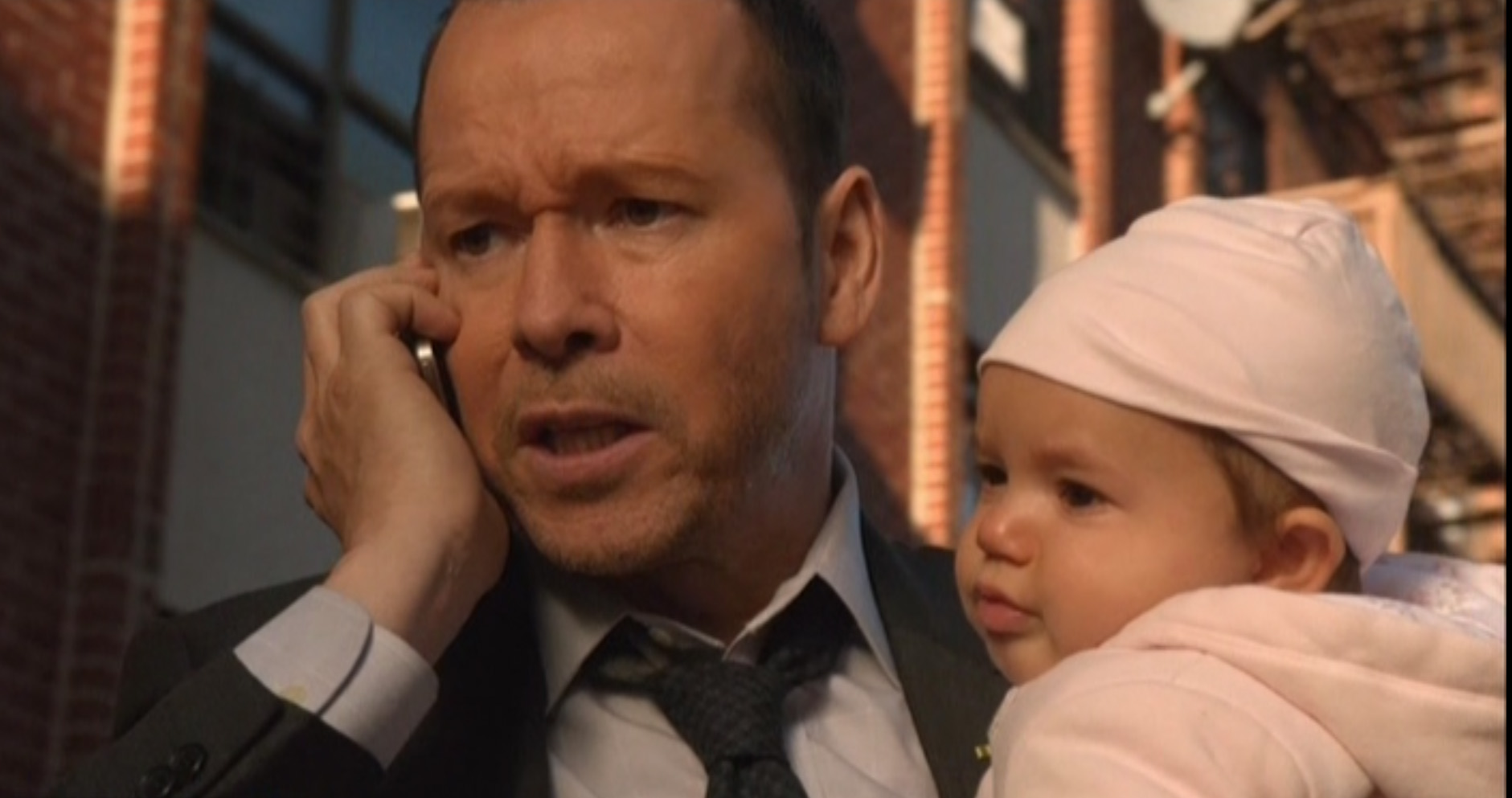 That's not Danny's baby ...  but how cute is that?