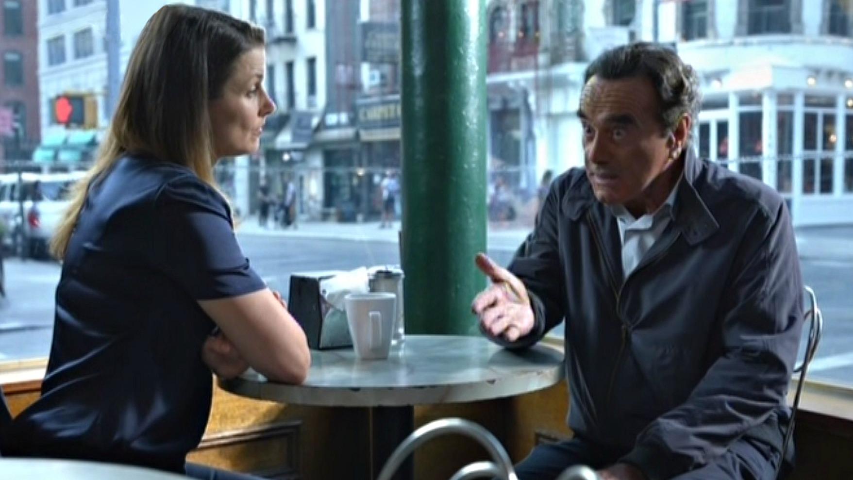 Bridget Moynahan as Erin Reagan-Boyle and Dan Hedaya as Vincent Rella