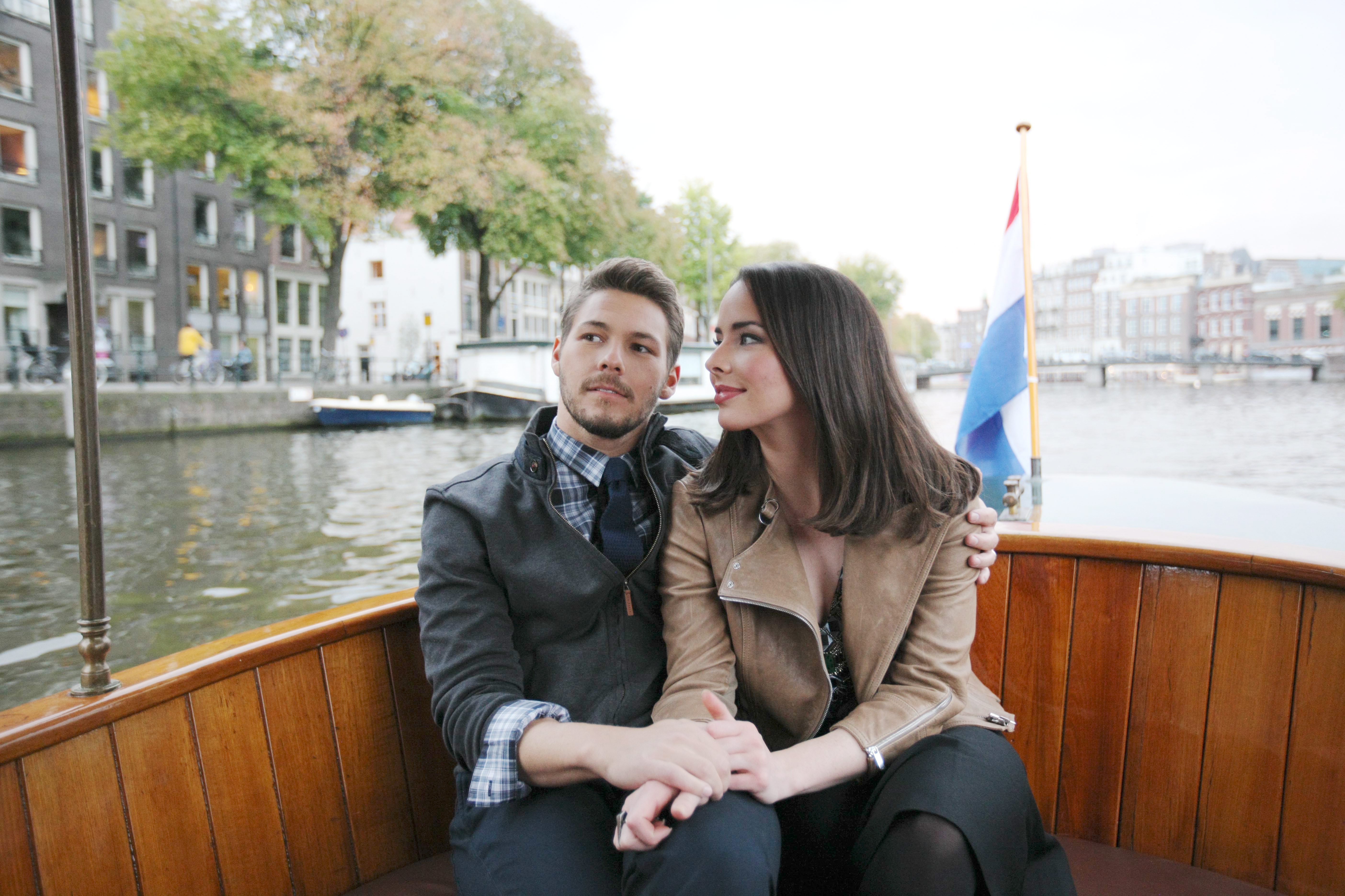 Liam and Ivy's Boat Trip