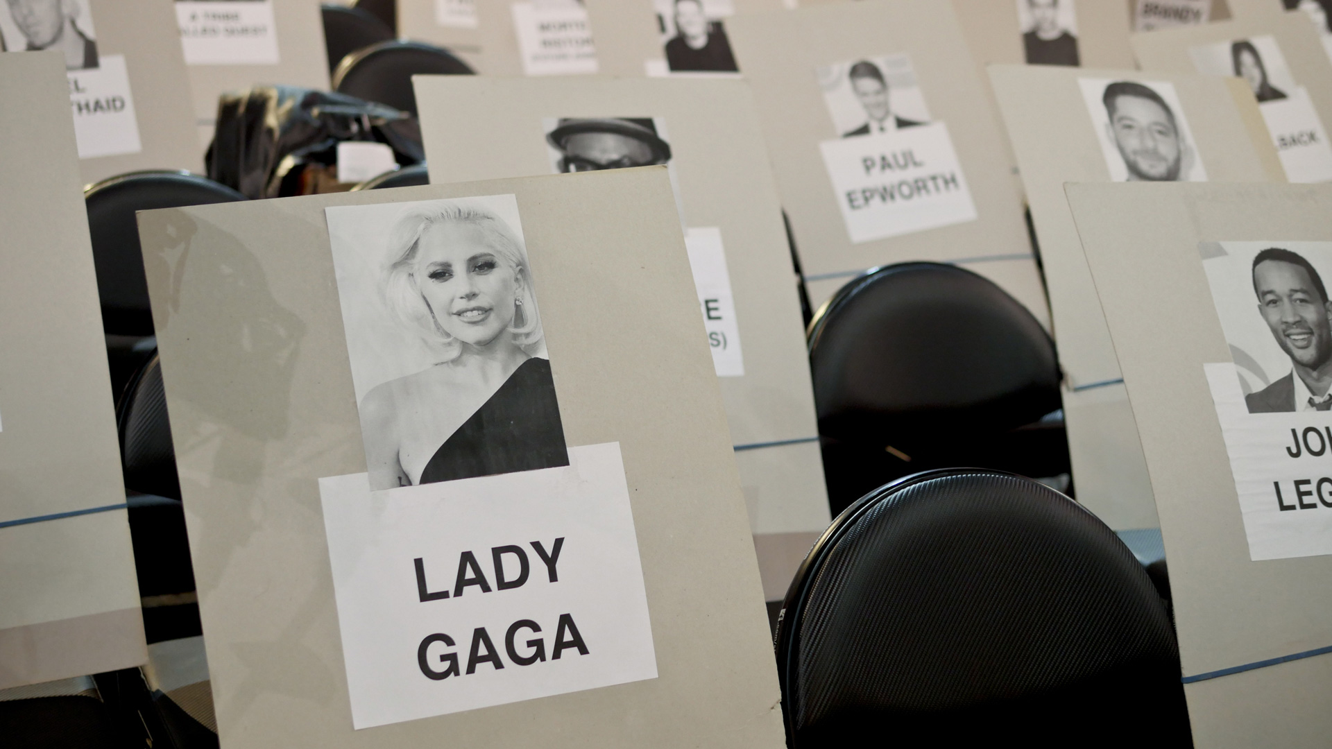 Lady Gaga and John Legend will keep each other company during the 2017 GRAMMY Awards.