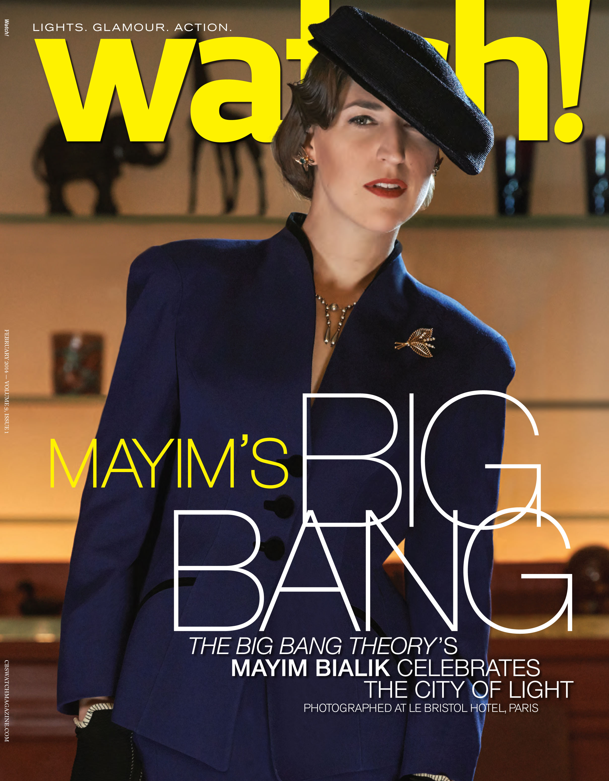 The Big Bang Theory's Mayim Bialik Watch Magazine Cover