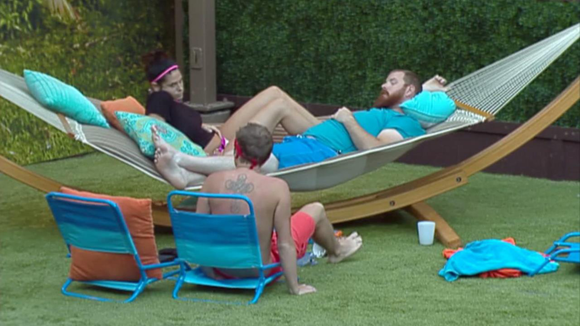 The first time a juror was eligible to re-enter the Big Brother house