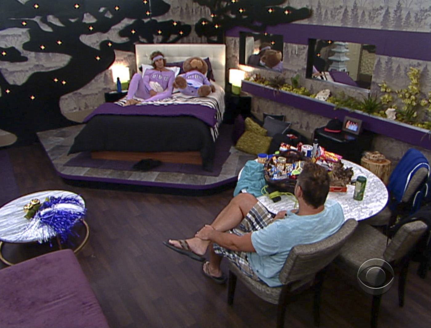 Talking the HoH Room