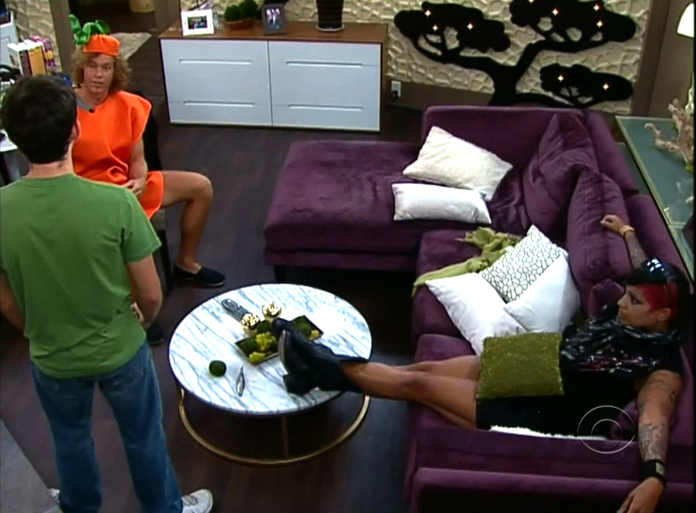 Talking in the HoH Room