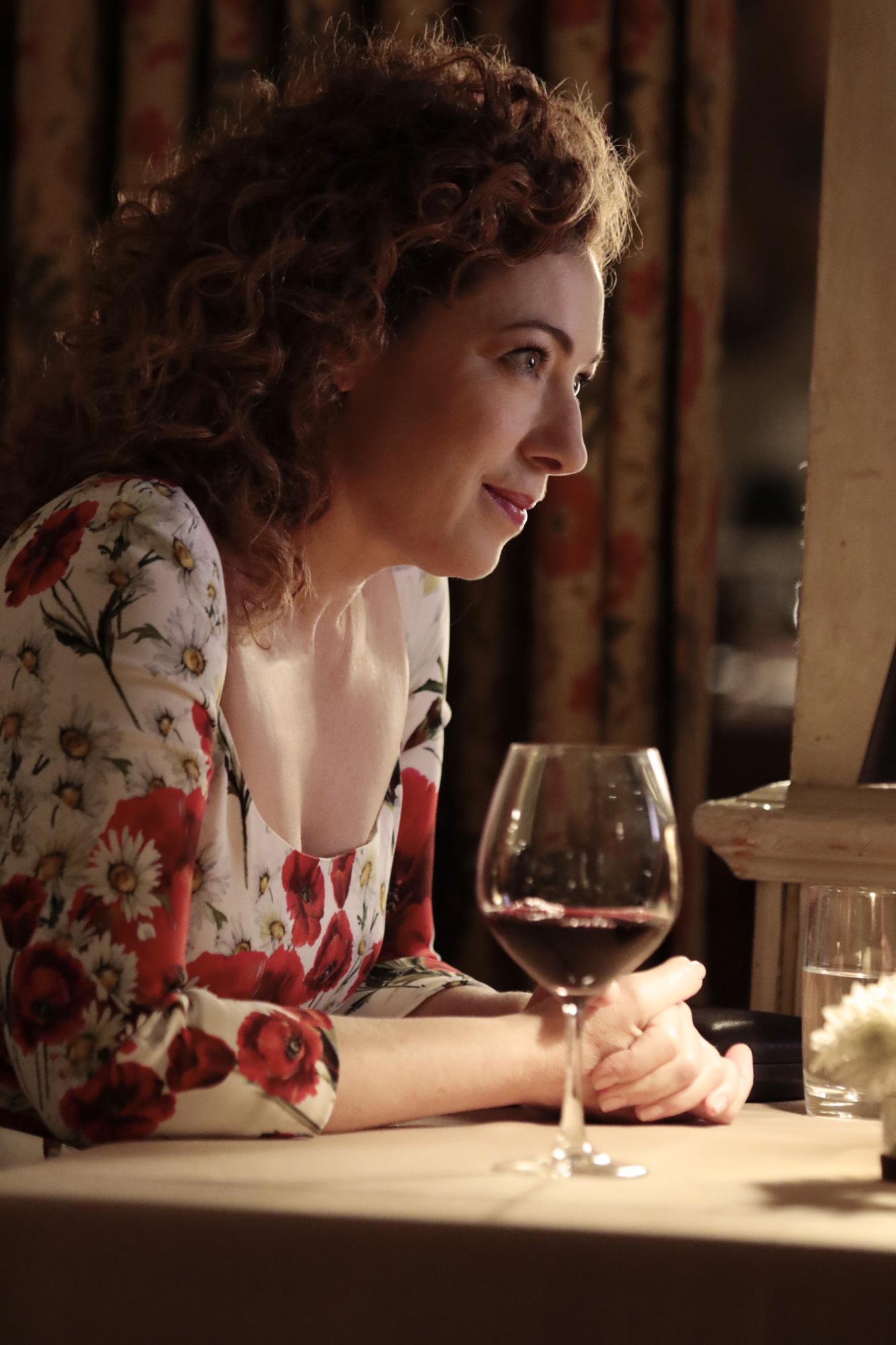 Alex Kingston as Sloane Thompson