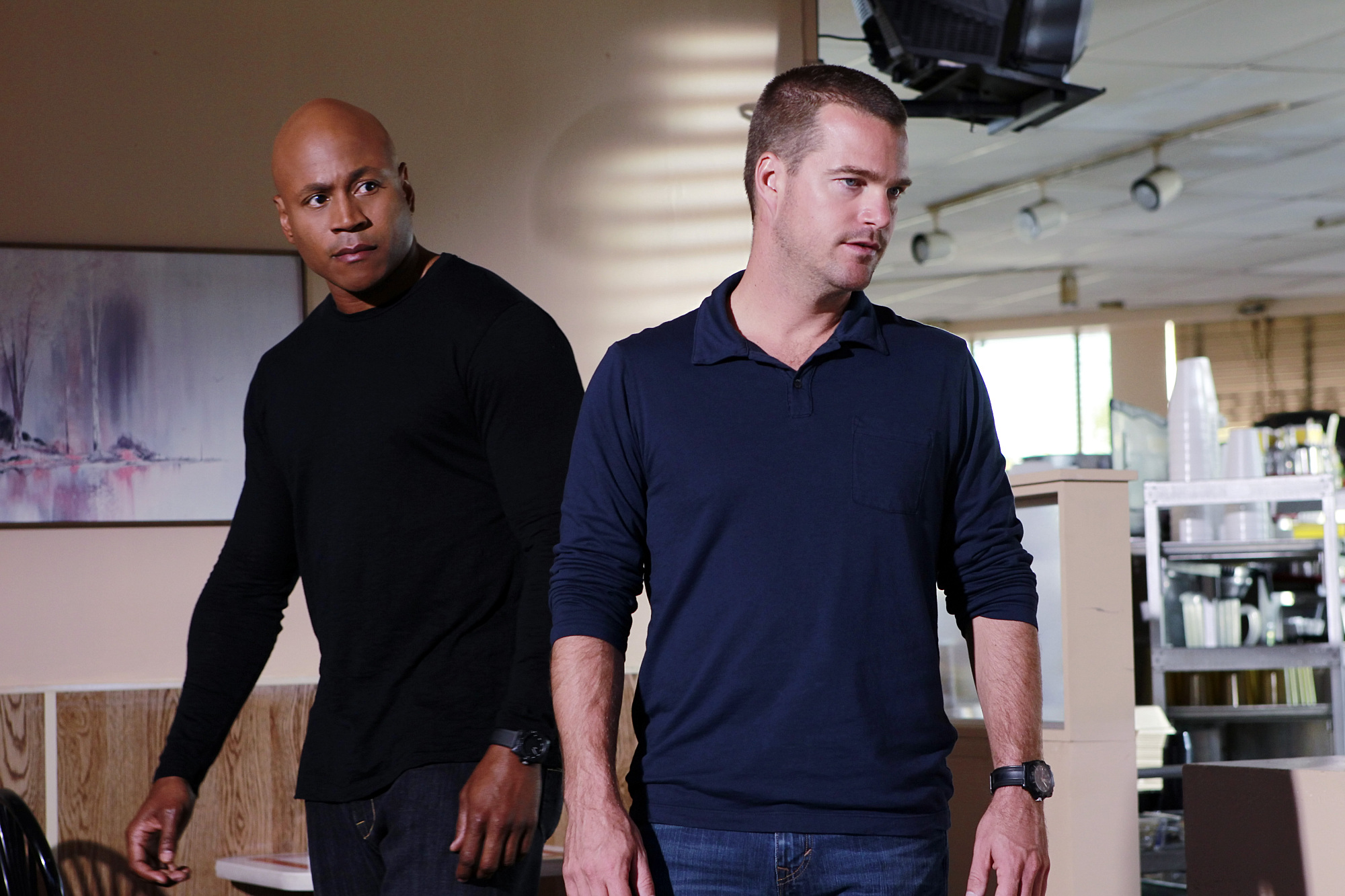 Callen and Sam Search for a Bounty Hunter