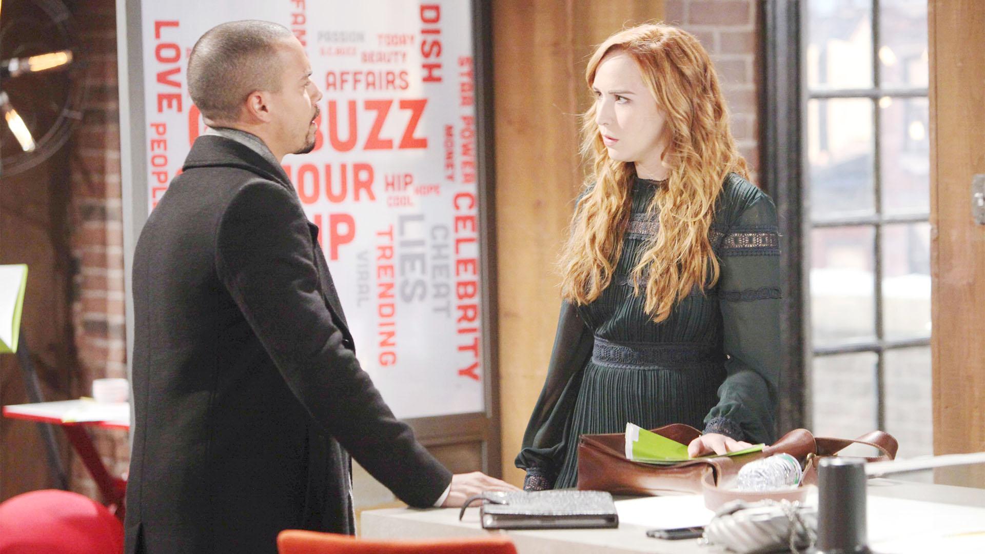 Devon is caught between Mariah and Tessa.