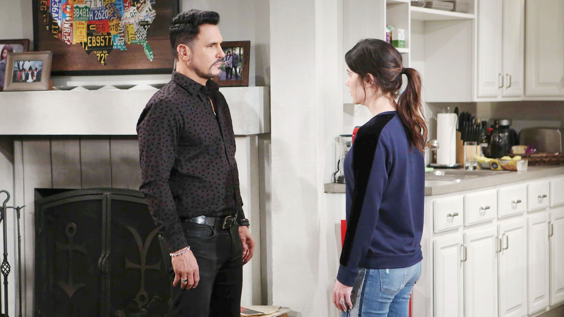 Hoping to bring comfort and resolve to Steffy, Bill admits his true feelings and advises her to not allow anyone to bring shame upon her.