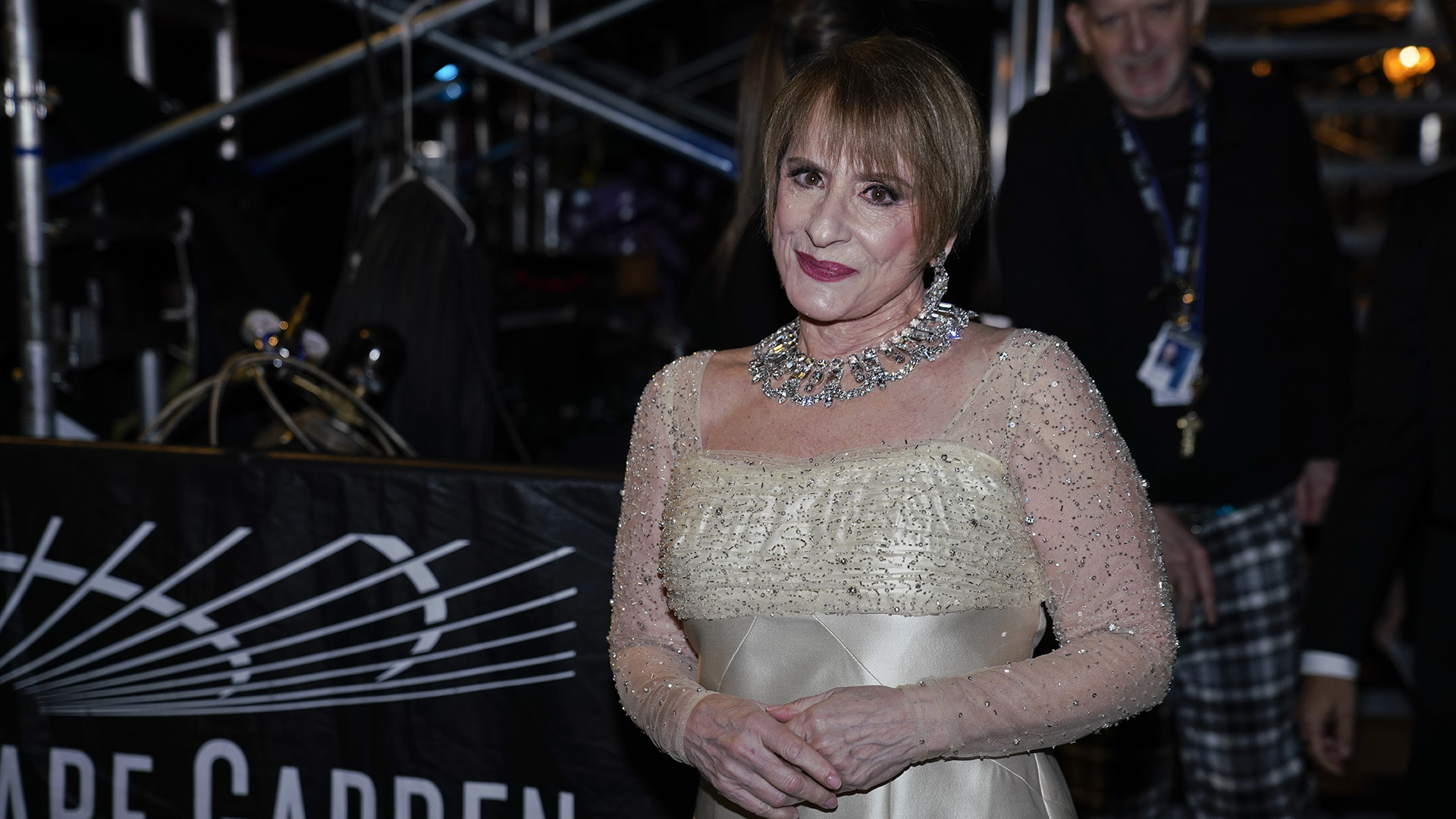 """Patti LuPone, who paid tribute to iconic Broadway composer Sir Andrew Lloyd Webber with a performance of """"Don't Cry For Me Argentina,"""