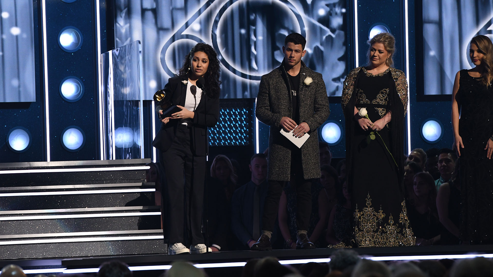Alessia Cara wins Best New Artist at the 60th Annual GRAMMY Awards.