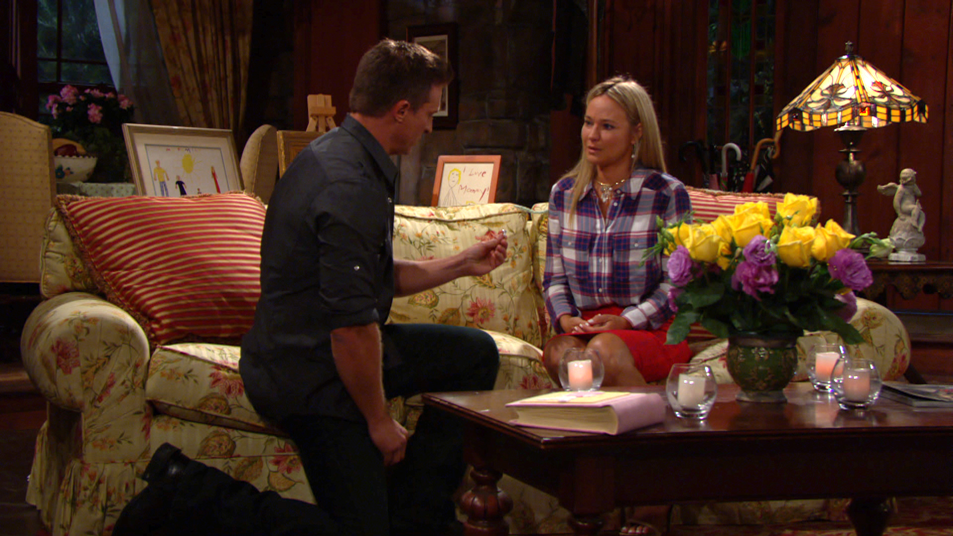 Dylan proposes to Sharon