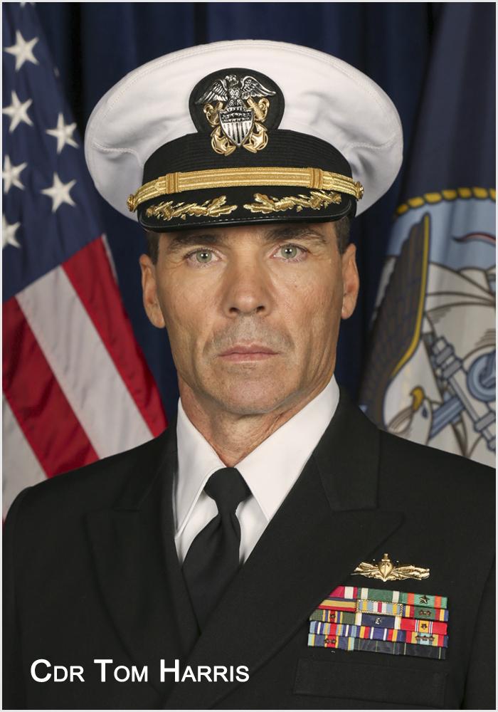 Commander Tom Harris
