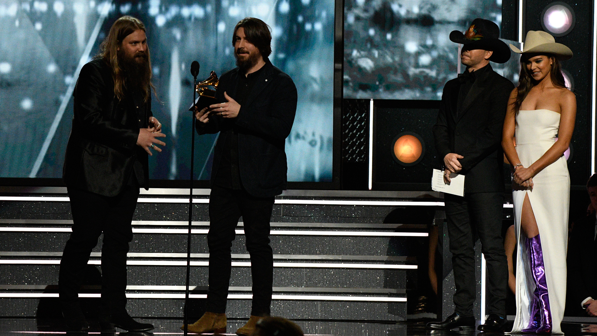 Chris Stapleton wins Best Country Album for From A Room: Volume 1 at the 60th Annual GRAMMY Awards.