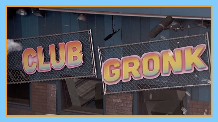 Question: What was the Battle of the Block foam party called? Answer: Club Gronk