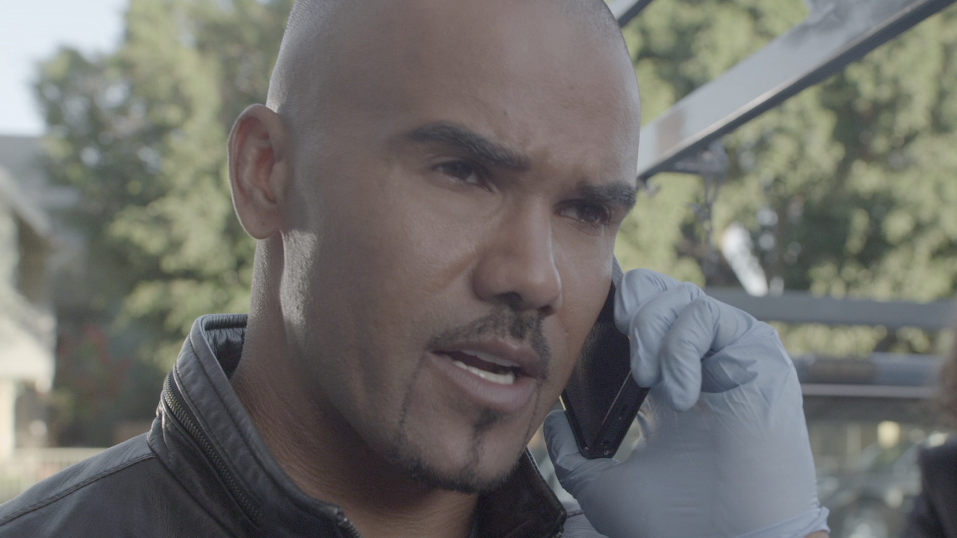 Criminal Minds: Morgan saves the day just before a murderer was about to behead his victim.