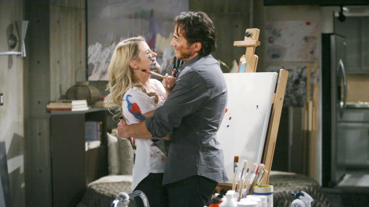 Caroline starts working closely with Ridge.