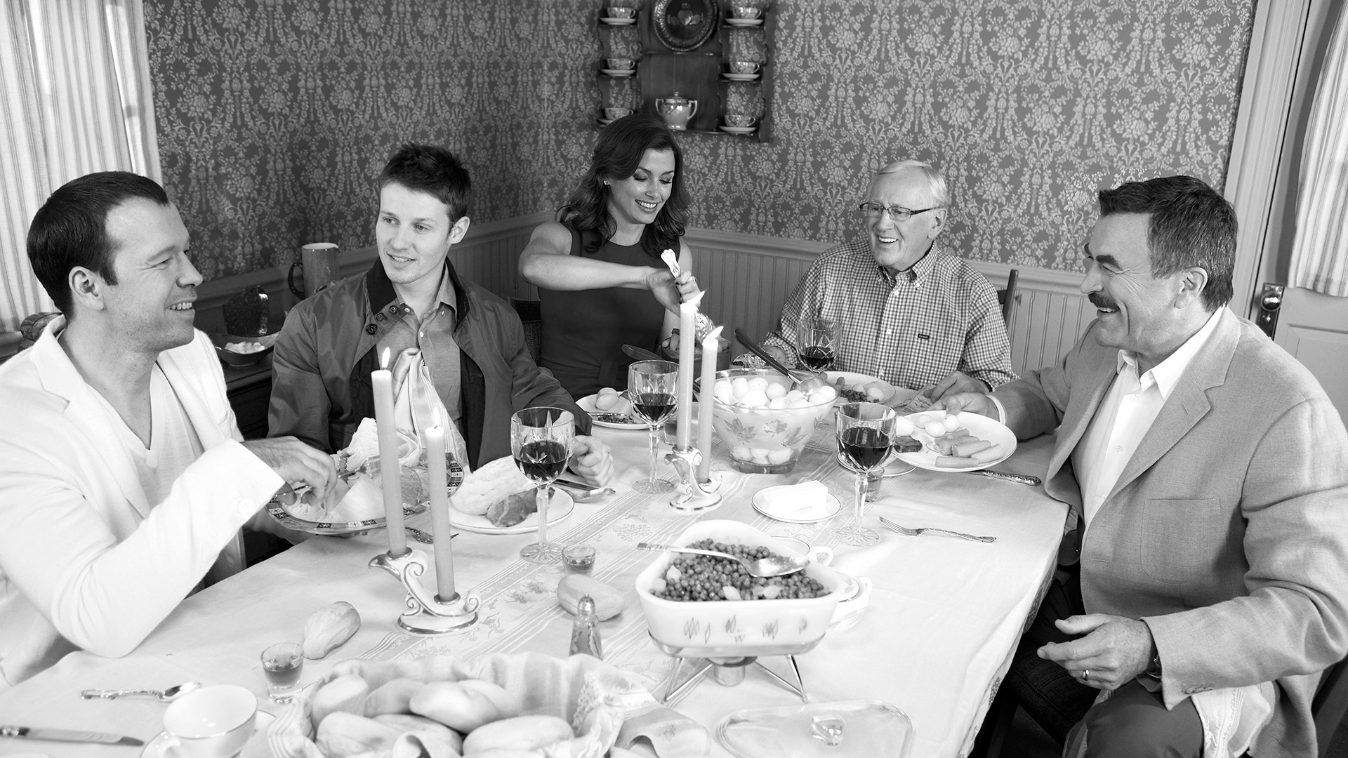 She brings family to the table.